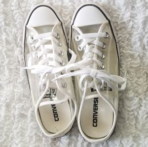 Converse Clear See Through shoes size 7